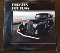 "1972 Reissue Hot Tuna ""Burgers"" LP - GRUNT Records (AYL1-3951) NM+"