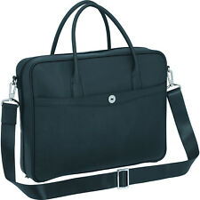 Oroton Melanie Briefcase Tote Bag Saffiano Leather Navy Tags Dustbag Rrp695