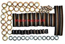 Jaguar V12 Fuel Injector Service Kit - Seals Hose Filters Pintle Caps - Kit 7