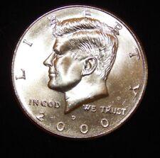 2000 D  Kennedy Half Dollar  BU Uncirculated  Flat fee ship