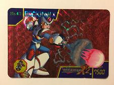 Rockman X2 (Megaman) Carddass Prism 43