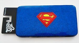 DC Comics Supergirl S-Shield Hinge Wallet Official Licensed Bioworld
