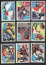1966 OPC Canada Batman Blue Bat Complete Set of 44