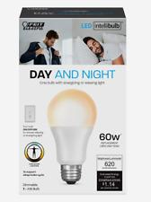 FEIT Electric DAY & NIGHT Intellibulb LED Smart Bulb Color Changing 60 Watt A19