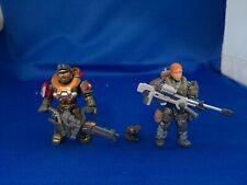 HALO MEGA CONSTRUX Spartan Jorge-052 Minigun Spartan Female Sniper