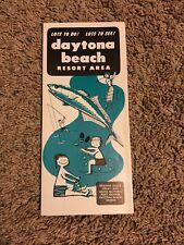 Dayton Beach Resort Area Brochure