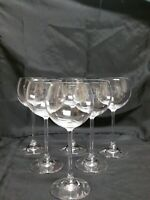 "Vintage Balloon Wine Goblets 7"" Set of 6"