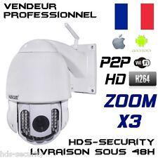 WANSCAM HW0025 CAMERA IP RESEAU PTZ ZOOM X3 HD 720P INFRAROUGE WIFI EXTERIEUR IR