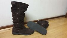 animal womens brown suede boots size uk 6 eu 39