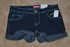 NWT GIRLS SOUTH POLE SHORTS SIZE 12 DARLING HEART POCKETS
