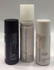 Kit Sebastian : Whipped Creme 27ML + Shampoo Trilliance 50ML + Conditioner 50ML