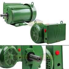 5 Hp Farm Duty Single Phase Electric Motor 1800 Rpm 184t Frame Tefc 208230 Volt
