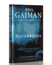 Neil Gaiman SIGNED Neverwhere Hardcover Author's Preferred Edition 1st Print VF