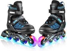 Men Women,Best New Inline Skates  Size 7 8 9 10 11 Adjustable Roller Blades
