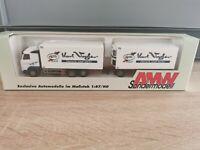(Box K11) AMW / AWM LKW H0 1:87 Volvo Hängerzug Karl Vogler OVP