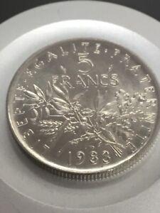 5 francs semeuse 1983