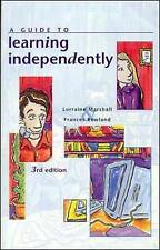 NEW A Guide to Learning Independently by Lorraine Marshall