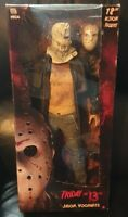"""Friday the 13th Jason Voorhees 18"""" Action Figure Rare 2009 figure never removed"""