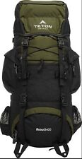 Compact Internal Frame Backpack with Pockets Scouting Camping Hiking Trips Field
