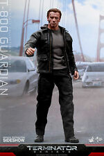 "The Terminator Genisys Guardian T-800 MMS307 12"" Figur Hot Toys"