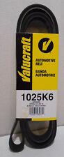 """Serpentine Automotive Belt  6 Rib Belt  6PK2605 1025K6  2.61 m X 102.5"""""""