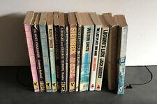 Vintage 1960s Pan Paperback Books Agatha Christie John Steinbeck Bundle Job Lot