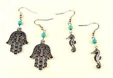 Turquoise Alloy Drop/Dangle Fashion Earrings