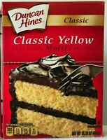 Duncan Hines Yellow Cake Mix Lot of 2 -15.25 oz Best By 3/25/20.Free Ship