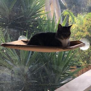 Cat Hanging Bed Window Perch Hammock Seat Bed Heavy Duty Suction Cup Shelf