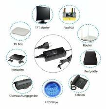 Power Adapter Ladegerät Netzteil Ladekabel 96W 12V 8A Transformator 5,5 x 2,5 mm