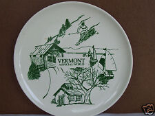 """Vermont A Special World 9 .25"""" Collector Plate"""