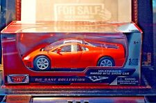 Rare VW Nardo Orange Opening Parts Model 1:18 Mint in Box Stunner by Motormax