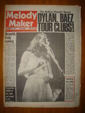 MELODY MAKER 1975 NOV 8 STEELEYE SPAN DYLAN CARPENTERS