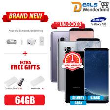 New Unlocked Samsung Galaxy S8 G950F 4G LTE Smartphone 64G Orchid Gray 1Yr Wty
