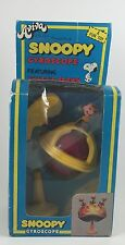 Vintage Rare Snoopy Gyroscope Featuring Charlie Brown, In Package, Aviva Toy