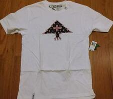 "Mens L-R-G Lifted Research Group LRG ""Bandana Icon"" T-Shirt White/Black Medium"