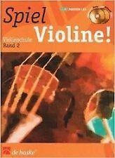 Spiel Violine! Violinschule 02 von Jaap van Elst (Taschenbuch)