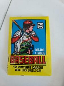Unopened 1979 Topps Baseball Wax Pack NICE