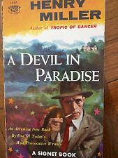 A Devil in Paradise by Henry Miller Signet Paperback 1956