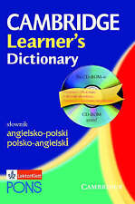 Cambridge Learner's Dictionary English-Polish: Angielsko-Polski, , New Book