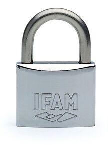 Keyed Alike IFAM Marine  Padlock.50mm. - Salt Spray Tested. One key fits all.