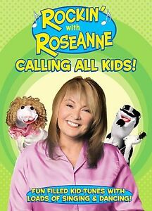 ROCKIN WITH ROSEANNE Calling All Kids (DVD, 2006) NEW