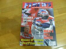 F1 NEWS  FORMULA 1 RACING MAGAZINE #8 MAY 1998  MIKA HAKKINEN JACQUES VILLENEUVE