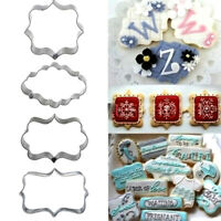 Christmas Cookie Cutters Biscuit Fondant Cake Decorating Mold Baking Set W3X3