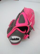 Franklin GFS Youth 10.5 Pink & Grey T-Ball Glove Right Hand Thrower