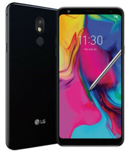 LG Stylo 5 - 32GB with Card Holder case  Black (Cricket}