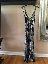 Just Cavalli Womens Long Dress Size 42 100% Authentic Made In Italy Rare!!!