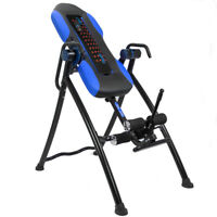 330lb heated massage Inversion Table Fitness Chiropractic Back Pain ache Relief