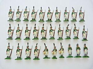 Plats d'étain - Zinnfiguren - Flat tin : 30 soldats russe 1er empire Borodino 3