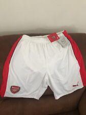 Puma White Arsenal Fc Gunners Premier League Soccer Shorts NWT Size M Mens